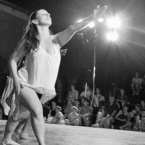 Πρόσωπα της Μαγνησίας. Αλεξάνδρα Σαμσαρέλου, Δασκάλα Χοροθεάτρου