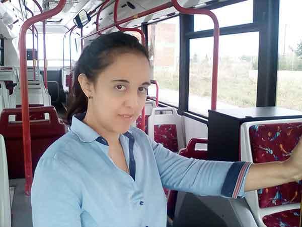 Πρόσωπα της Μαγνησίας. Ελένη Λάππα, Οδηγός Αστικού Λεωφορείου