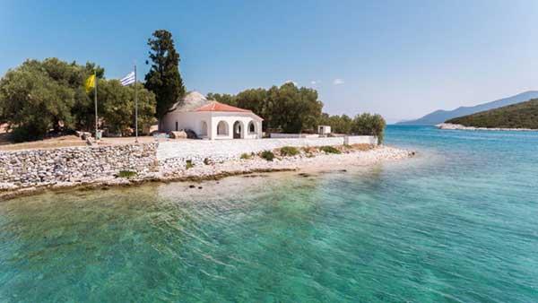 Γνωρίζατε ότι στον κόλπο της Αμαλιαπολης ( Μιτζέλας) υπάρχει ένα μικρό νησάκι ;