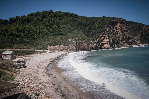 παραλία θεοτόκου