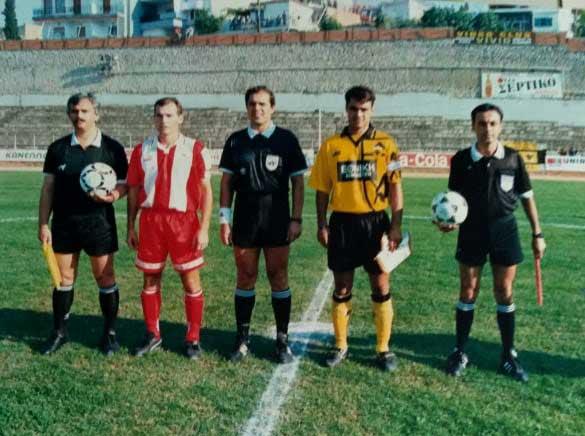 Πρόσωπα δικά μας.Αντώνης Μάνδαλος.Παλαίμαχος ποδοσφαιριστής-προπονητής ποδοσφαίρου