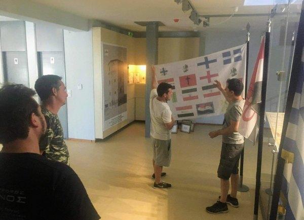 """Επισκέπτες από όλη την Ευρώπη στο Εκθεσιακό Κέντρο Πολιτισμού """"Ρήγας Βελεστινλής"""""""