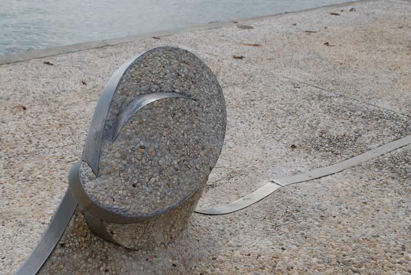 Πάρκο μοντέρνας γλυπτικής στον Άναυρο στο Βόλο