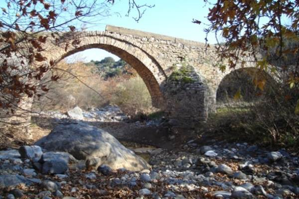Δίτοξο γεφύρι Πλατανορέματος (Χατζηαλεξη)