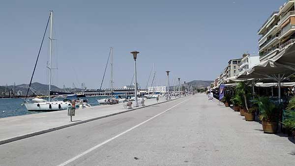 """Γνωρίζοντας τους δρόμους της πόλης μας """"Αργοναυτών""""(παραλία)"""