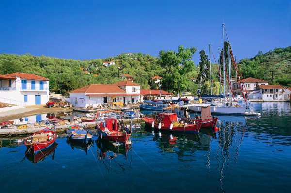 Το νησί Τρίκερι,που κάποτε ήταν τόπος εξορίας γυναικών