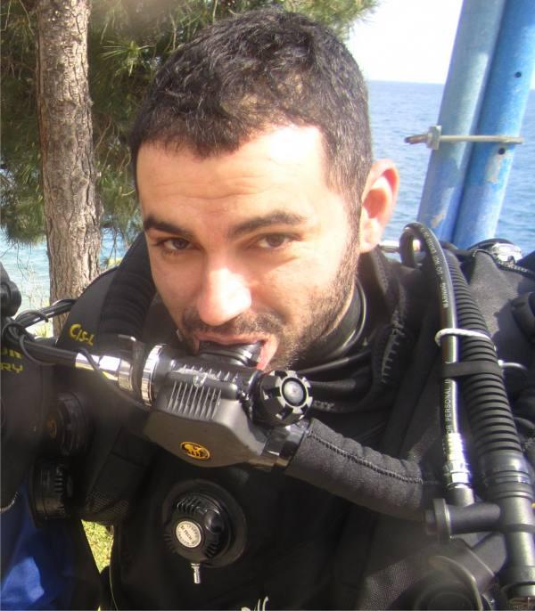 Πρόσωπα της Μαγνησίας. Χρήστος Ζούμπος,Εκπαιδευτής Τεχνικής Κατάδυσης