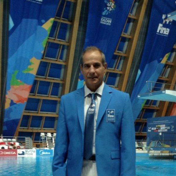 Πρόσωπα της Μαγνησίας.Νικόλαος Τουλούδης,Καθηγητής Φυσικής αγωγής,ομοσπονδιακός προπονητής καταδύσεων