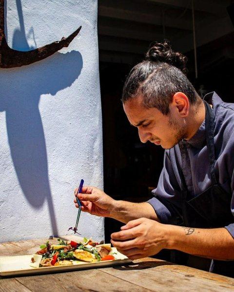 Πρόσωπα της Μαγνησίας. Άρης Σαλαμούρας,μάγειρας